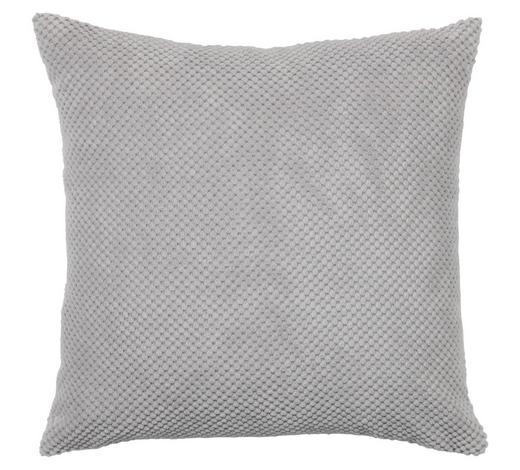 ZIERKISSEN 45/45 cm - Silberfarben, Basics, Textil (45/45cm) - Novel