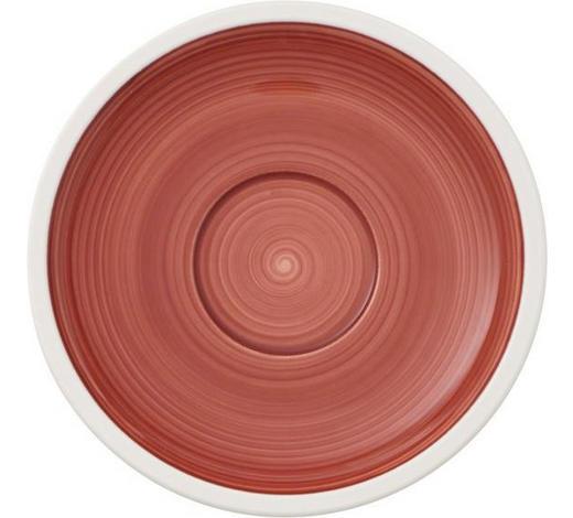 UNTERTASSE - Rot/Weiß, Keramik (16cm) - Villeroy & Boch