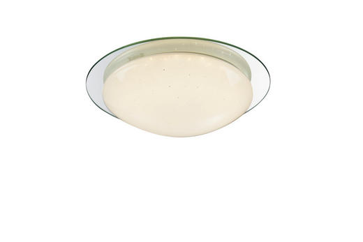 LED-DECKENLEUCHTE - Opal, MODERN, Glas/Kunststoff (30/9cm)