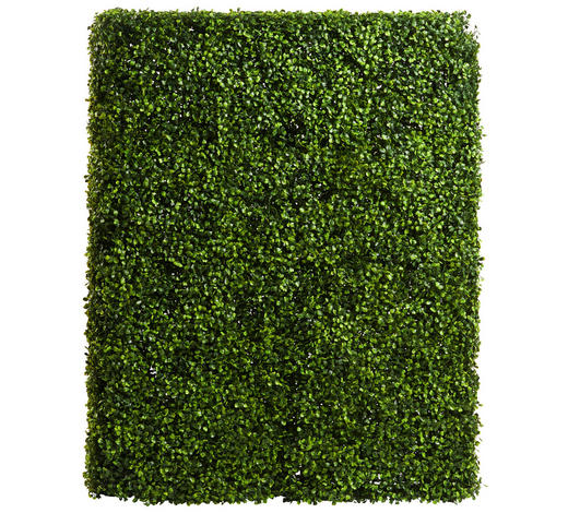 KUNSTHECKE - Grün, Basics, Kunststoff/Metall (75/100/30cm) - Ambia Garden