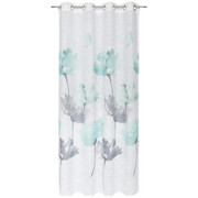 ÖSENVORHANG halbtransparent - Mintgrün, KONVENTIONELL, Textil (140/245cm) - Esposa