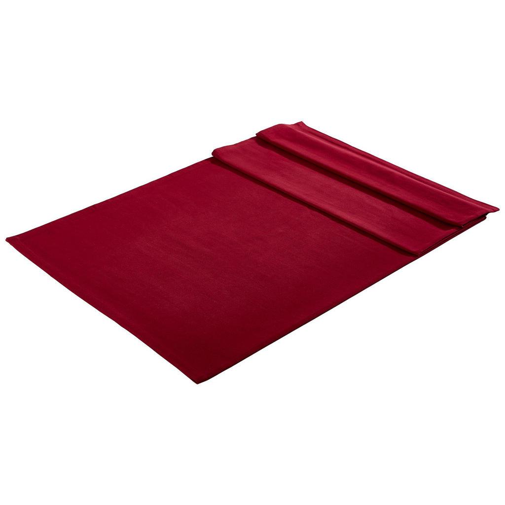 Bio:Vio Tischdecke textil webstoff bordeaux 100/100 cm
