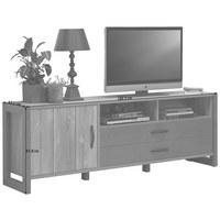 TV-ELEMENT 189,5/67,8/43,1 cm  - Dunkelgrau/Schwarz, Trend, Holzwerkstoff/Kunststoff (189,5/67,8/43,1cm) - Carryhome