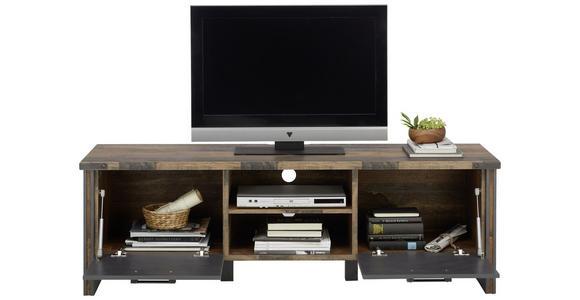 TV-ELEMENT 168/52/42 cm  - Anthrazit/Grau, KONVENTIONELL, Holzwerkstoff/Kunststoff (168/52/42cm) - Hom`in