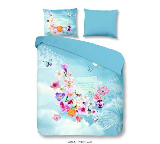 Bettwäsche Mikrofaser Blau Multicolor 135200 Cm Online Kaufen