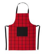 SCHÜRZE   - Rot, KONVENTIONELL, Textil (60/80cm) - Esposa