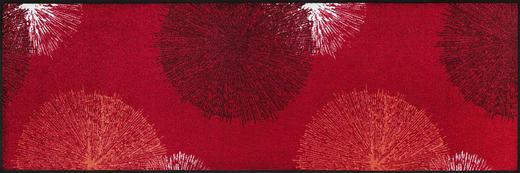 FUßMATTE 60/180 cm Graphik Rot - Rot, Kunststoff/Textil (60/180cm) - Esposa