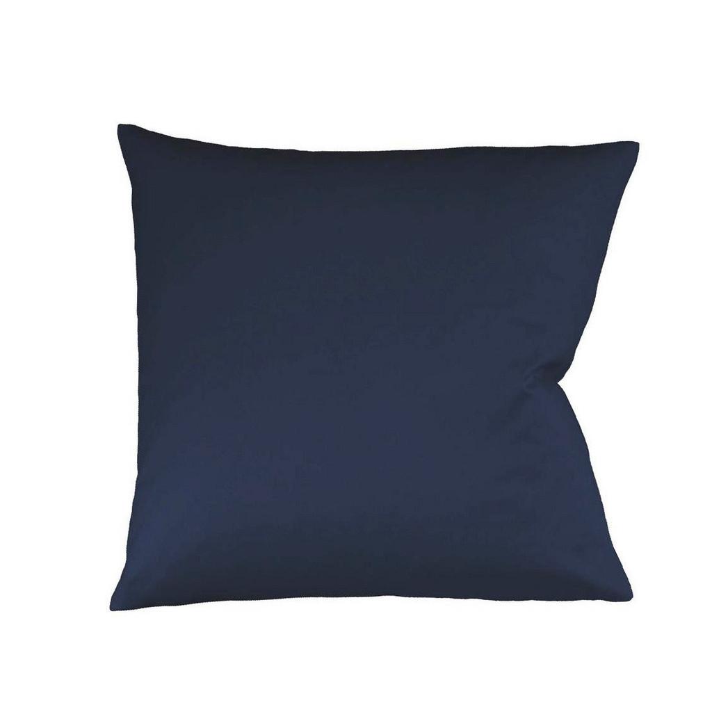 FLEURESSE KISSENHÜLLE Blau 40/40 cm
