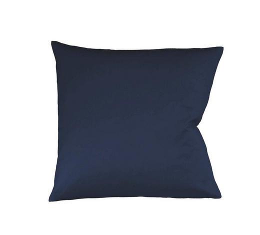 KISSENHÜLLE Dunkelblau 40/40 cm  - Dunkelblau, Basics, Textil (40/40cm) - Fleuresse