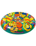 LUFTMATRATZE 43195 - Multicolor, Basics, Kunststoff (173/25cm) - Bestway
