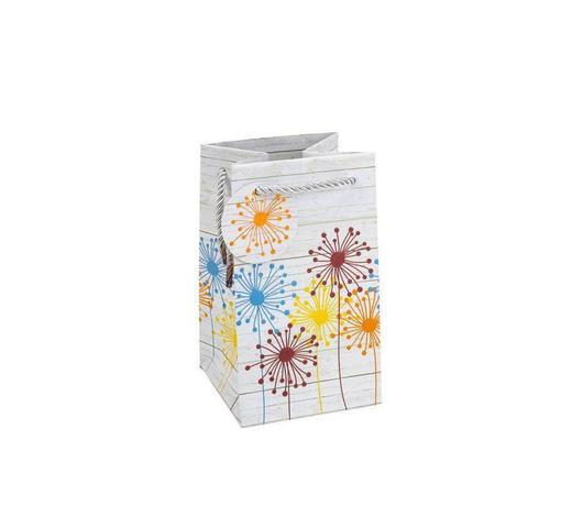 GESCHENKTASCHE - Multicolor, KONVENTIONELL, Papier (10,5/18/10,5cm)
