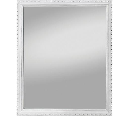 SPIEGEL  - Weiß, Design, Glas/Holz (34/45/2cm) - Carryhome