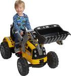 Kinderelektrotraktor - Gelb, Basics, Kunststoff (148/61/64cm)