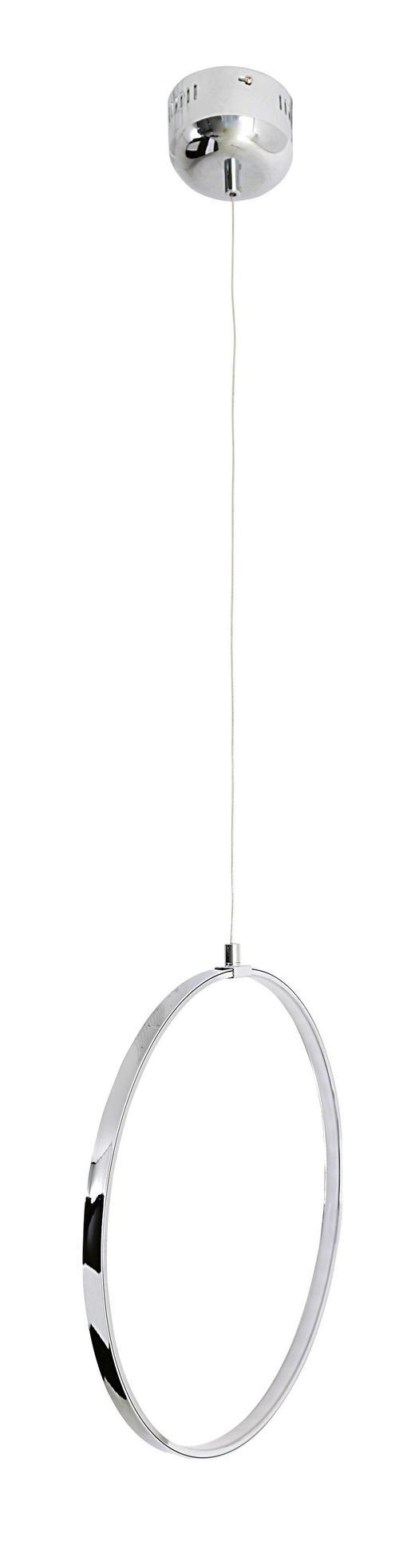 LED-HÄNGELEUCHTE - Chromfarben, Basics, Metall (60/120cm)