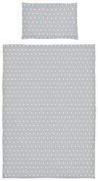 BABYBETTWÄSCHE - Grau, Trend, Textil (100/140cm) - My Baby Lou