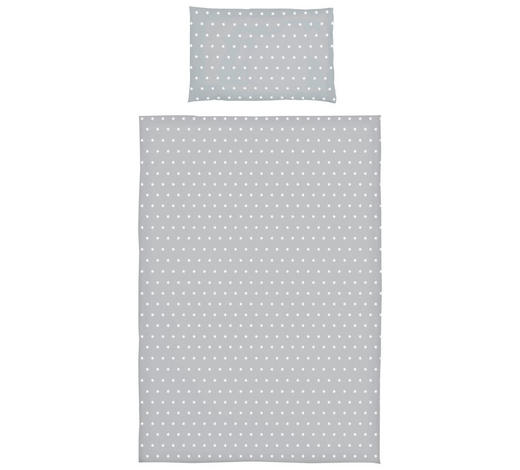 BABYBETTWÄSCHE 100/140 cm - Grau, Trend, Textil (100/140cm) - My Baby Lou