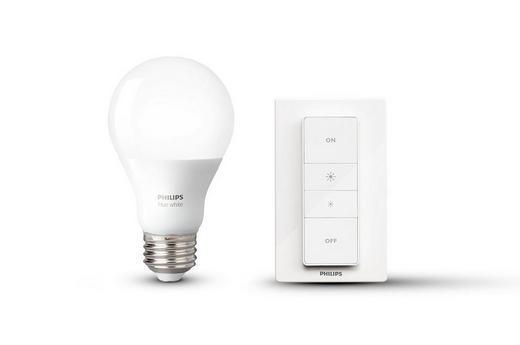 HUE WHITE LEUCHTMITTEL+DIMMER  E27 9,5 W - Weiß, Design, Kunststoff (6,1/11,0/6,1cm) - Philips