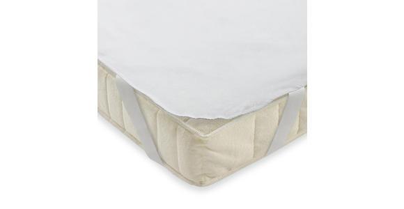 MATRATZENAUFLAGE 90/190 cm  - Weiß, Basics, Textil (90/190cm) - Sleeptex