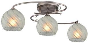 DECKENLEUCHTE - Basics, Glas/Metall (65/34/25cm) - Boxxx