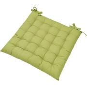 SITZKISSEN - Grün, Basics, Textil (40/40cm) - BOXXX