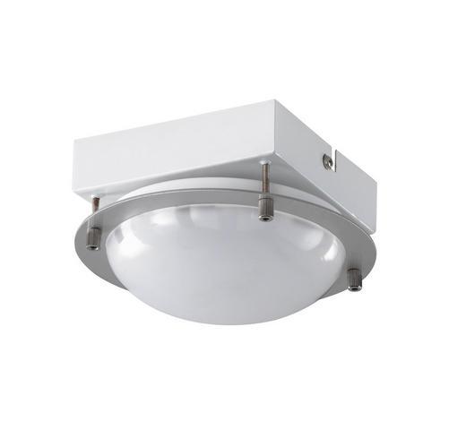 LED-DECKENLEUCHTE - Nickelfarben, Basics, Metall (16/9cm)