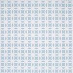 VORHANGSTOFF per lfm Verdunkelung - Weiß/Hellblau, KONVENTIONELL, Textil (150cm) - Esposa