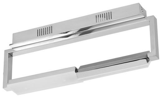 LED-DECKENLEUCHTE - Chromfarben, Design, Kunststoff/Metall (51/12/36,50cm) - Joop!