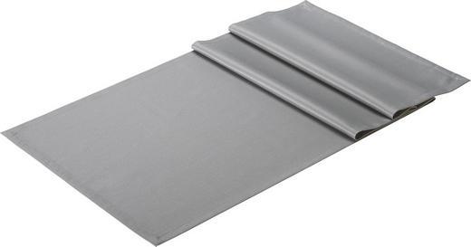 TISCHLÄUFER Textil Jacquard Graphitfarben 50/150 cm - Graphitfarben, Basics, Textil (50/150cm)