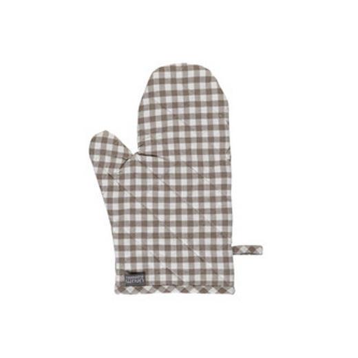 TOPFHANDSCHUH - Beige/Braun, Basics, Textil (15/32cm) - LINUM