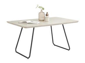 MATBORD - grå/svart, Design, metall/träbaserade material (150/90/76cm) - Hom`in