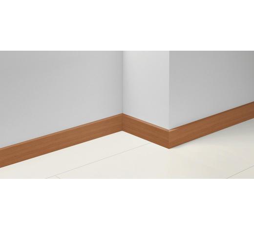 SOCKELLEISTE Kirschbaumfarben, Rotbraun - Kirschbaumfarben/Rotbraun, Basics, Holzwerkstoff (257/1,65/7cm) - Parador