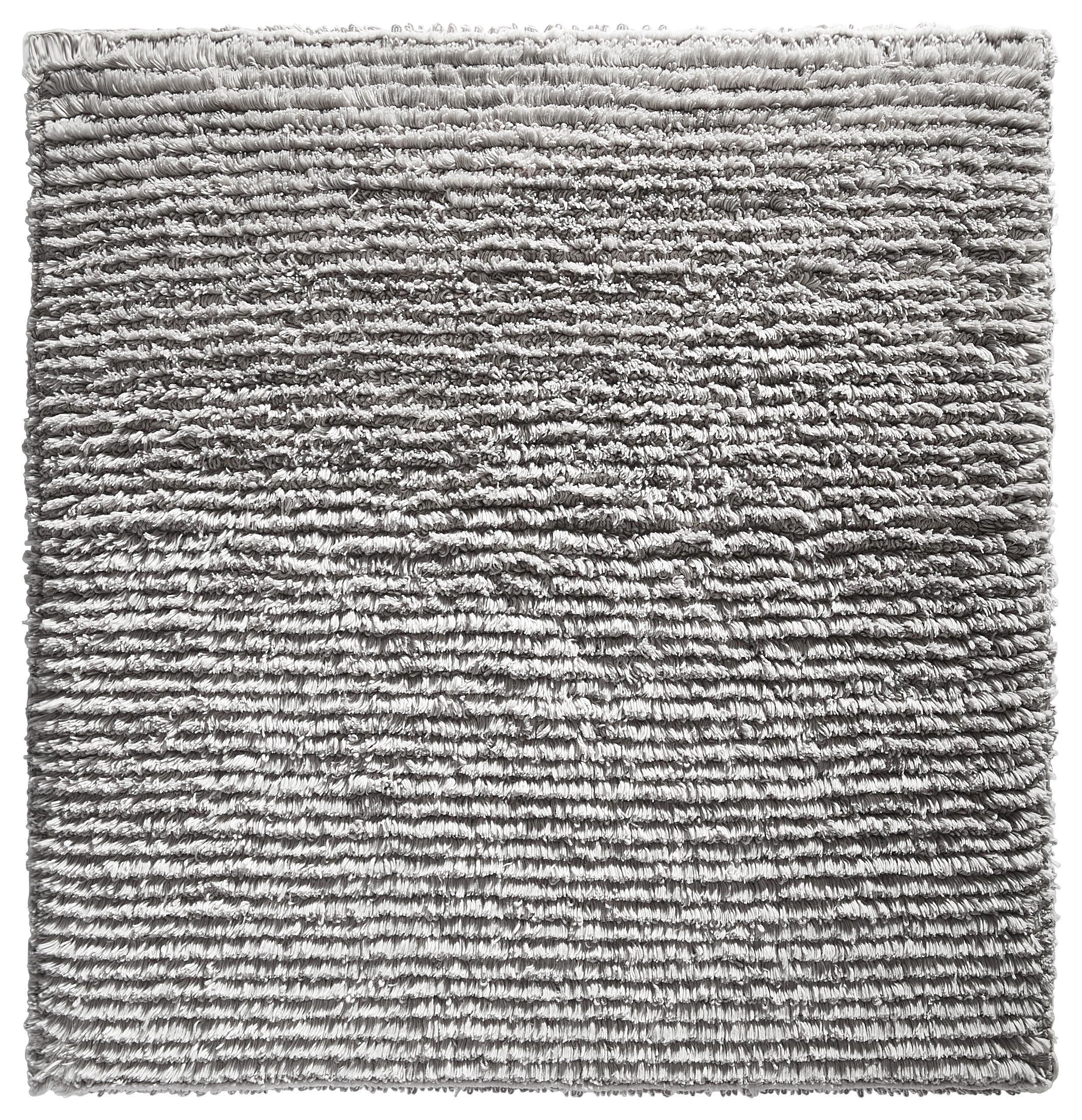 BADEMATTE  Silberfarben  60/60 cm - Silberfarben, Design, Textil (60/60cm) - LINEA NATURA