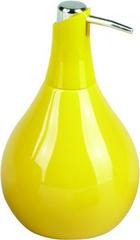 DÁVKOVAČ MÝDLA - žlutá, Basics, keramika (10/17.5cm)
