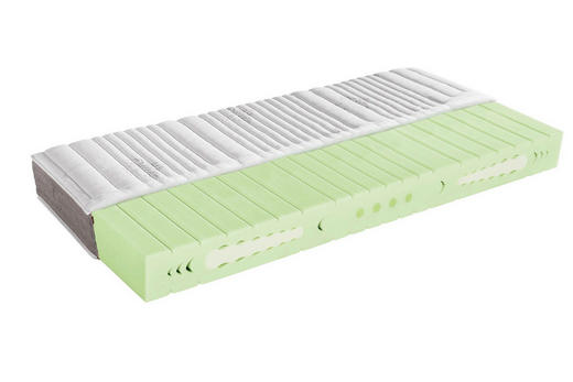 KALTSCHAUMMATRATZE - Weiß, KONVENTIONELL, Textil (80/20/200cm) - Sleeptex