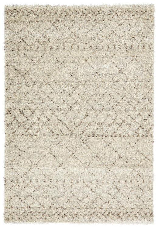 HOCHFLORTEPPICH  60/120 cm  gewebt  Beige - Beige, Basics, Textil (60/120cm)