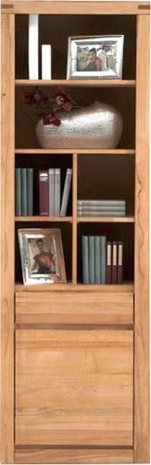 REGAL Kernbuche massiv Buchefarben - Buchefarben, Design, Holz (65/208/37cm) - CARRYHOME