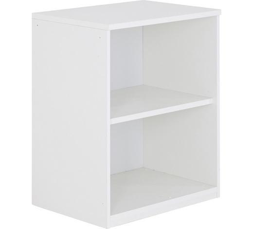REGAL in 60/76,5/43 cm Weiß - Weiß, Design, Holzwerkstoff (60/76,5/43cm)