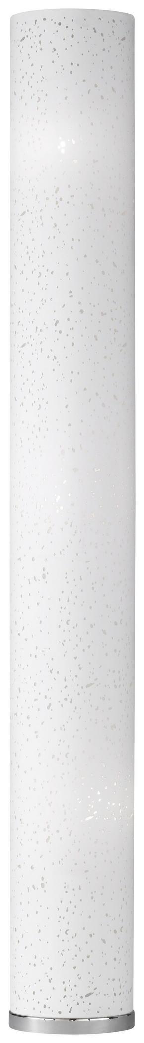 GOLVLAMPA - vit/kromfärg, Klassisk, metall/textil (156cm)