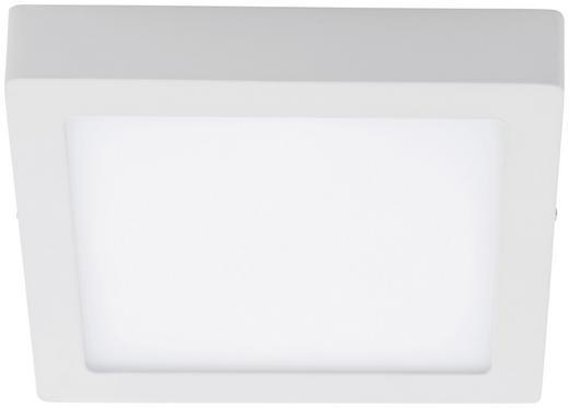 LED-DECKENLEUCHTE - Weiß, Design, Kunststoff/Metall (22,5/22,5/4cm)