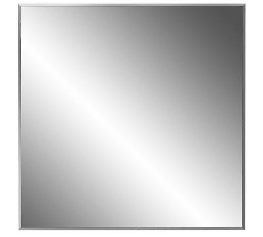 SPIEGEL 80/80/2 cm  - Grau, Design, Glas/Holzwerkstoff (80/80/2cm) - Xora