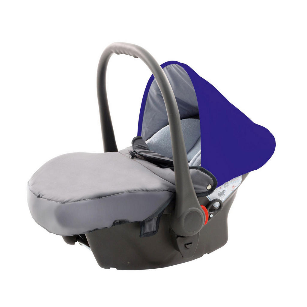 Babyschale in Blau & Grau von Knorr-Baby