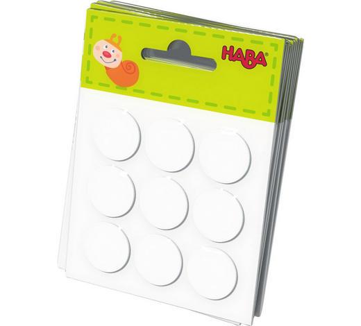 KLEBEPUNKTE - Weiß, Basics, Weitere Naturmaterialien (4cm) - Haba