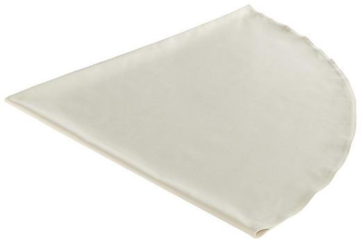 TISCHDECKE Textil Leinwand, Struktur Beige 160 cm - Beige, Textil (160cm) - NOVEL