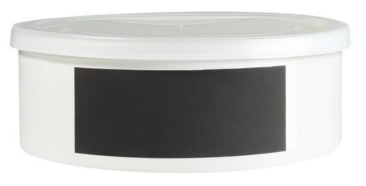 VORRATSDOSE - Weiß, Design, Keramik (22/8cm) - ASA