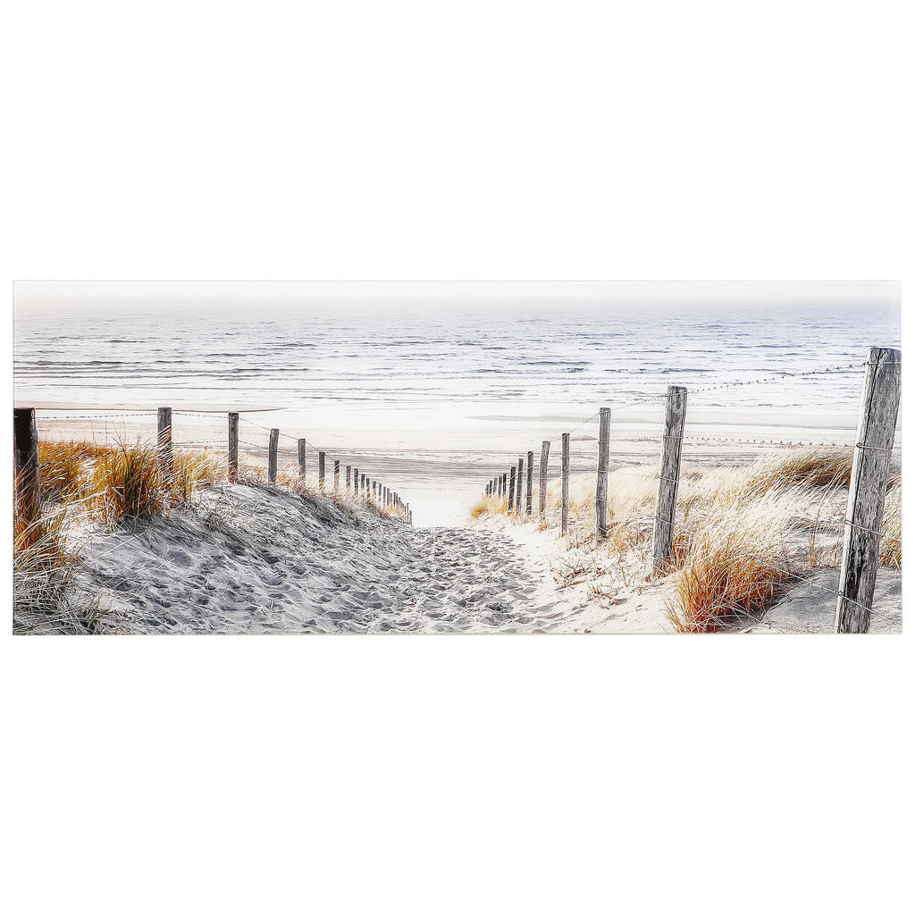 Monee Glasbild strand & meer