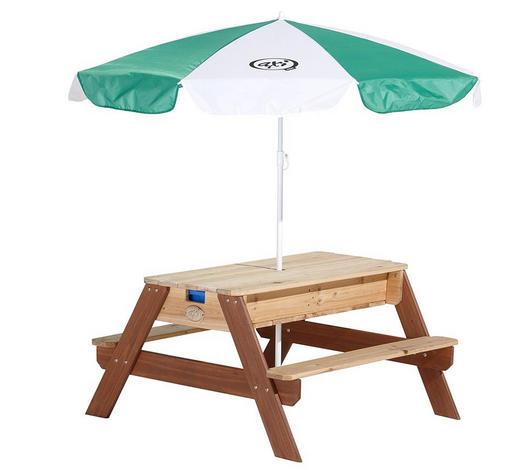 Axi Kinder-Gartentisch Nick Holz  - Braun, Basics, Holz (80/56/90cm)