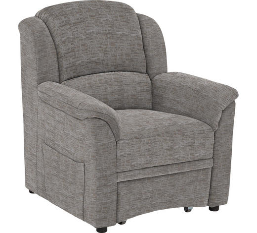 SESSEL in Textil Creme, Beige - Beige/Creme, KONVENTIONELL, Kunststoff/Textil (94/98/89cm) - Beldomo Comfort