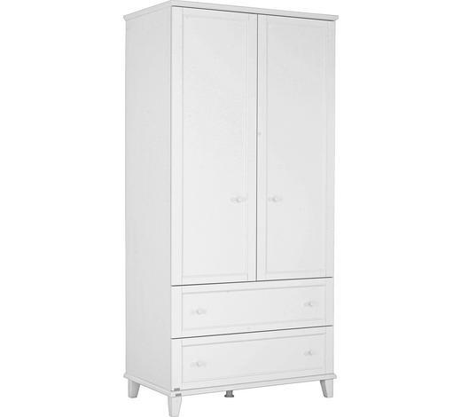 KLEIDERSCHRANK in Weiß  - Weiß, Design, Holzwerkstoff (96,9/200,1/56,6cm) - Paidi
