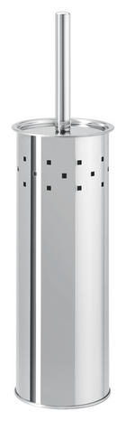 GARNITURA TOALETNE ČETKE - boje oplemenjenog čelika, Lifestyle, metal/plastika (9,5/39/9,5cm) - Lesnina-XXXL