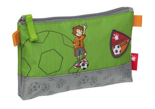Kinderkulturbeutel - Hellgrau/Grün, Textil (20/12/3cm) - Sigikid